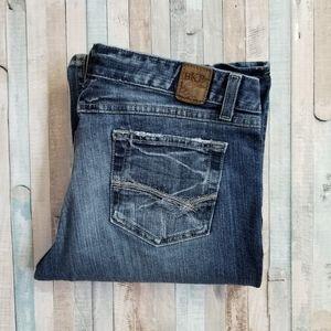 BKE Starlite Stretch Flare Jeans